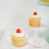 DIY printable dessert coasters -Sugar and Cloth