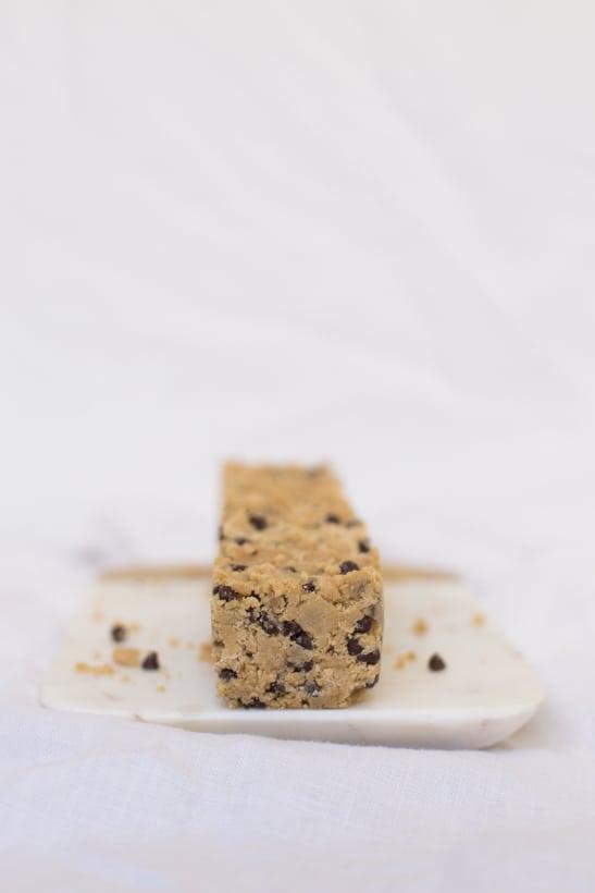frozen cookie dough sundaes | sugarandcloth.com