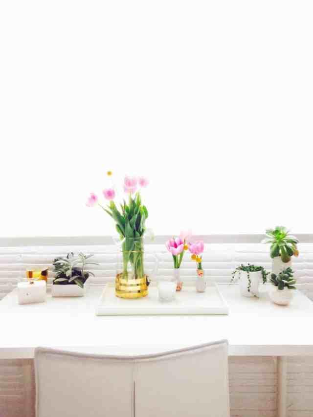 pretty florals int he sugar & cloth studio