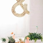 DIY Pom pom placemats and tabletop