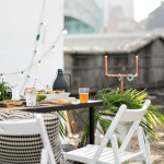 A DIY Rooftop Watch Party