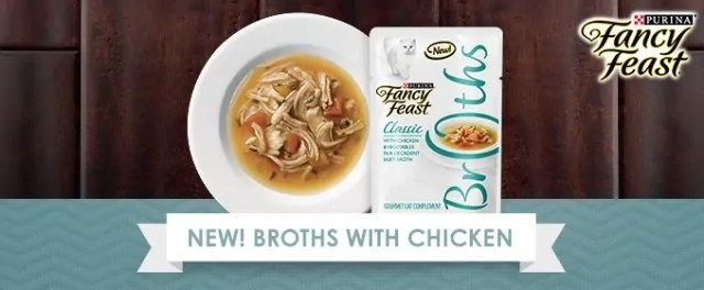 fancy feast broths with chicken