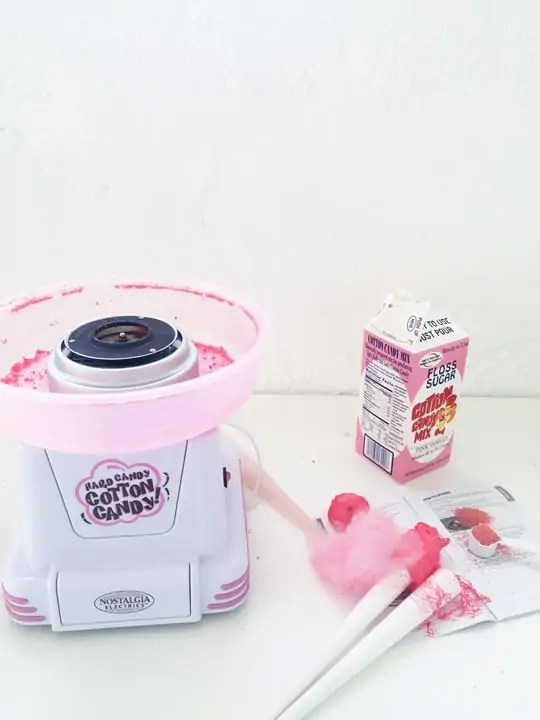 cotton candy maker!