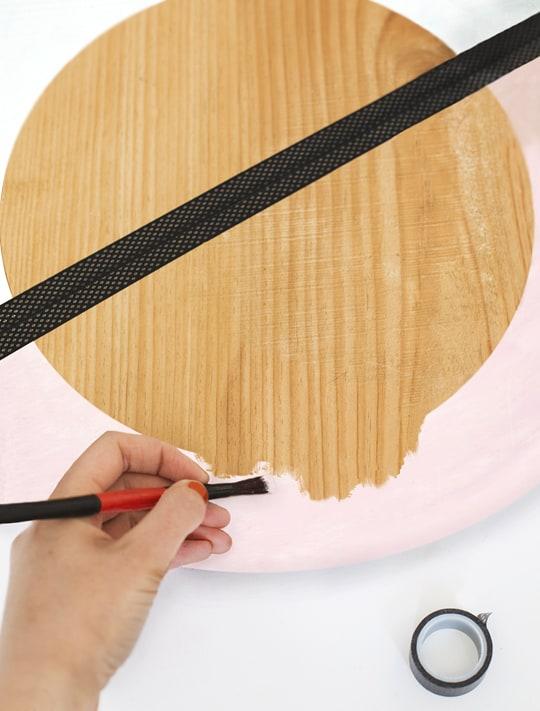 DIY Hanging Mirror - Sugar & Cloth
