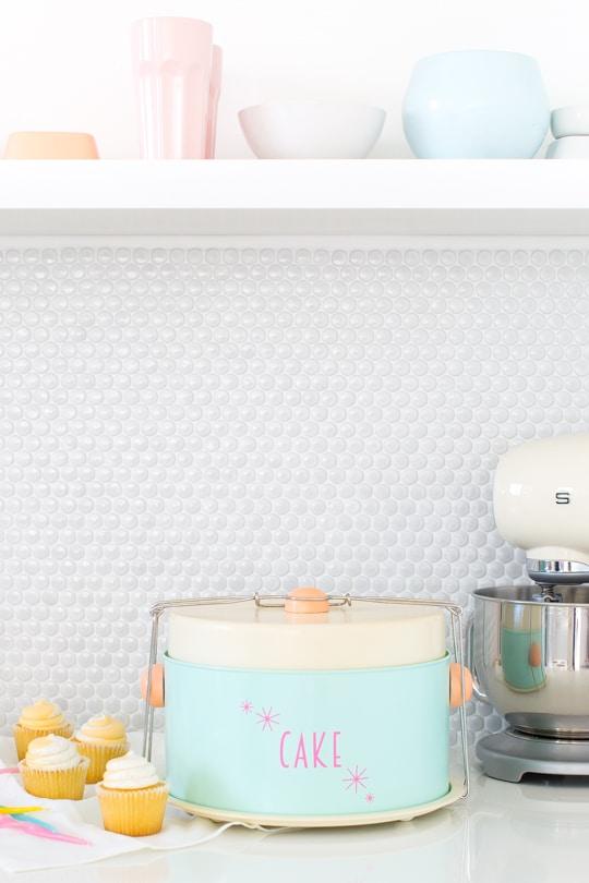 DIY retro cake carrier | sugar & cloth