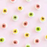 DIY Mini Monster Eyeball Donuts