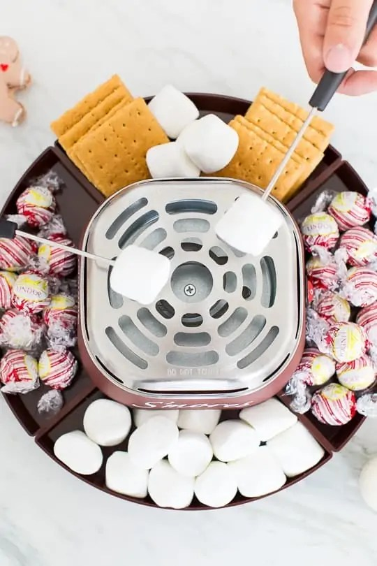 A holiday s'mores party! - Sugar & Cloth -