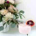 Blood Orange & Rose Creamsicle Cocktail