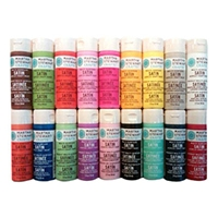 These Martha Stewart Crafts Satin Paints are one of Sugar & Cloth's favorite DIY supplies.