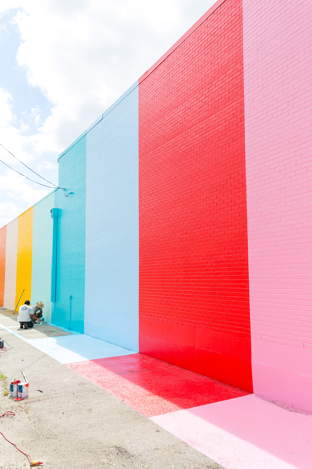 The Sugar  Cloth Color Wall in Houston  video  Sugar