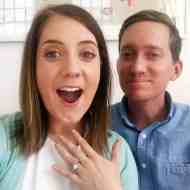 we're engaged! sugar and cloth - wedding - houston blogger