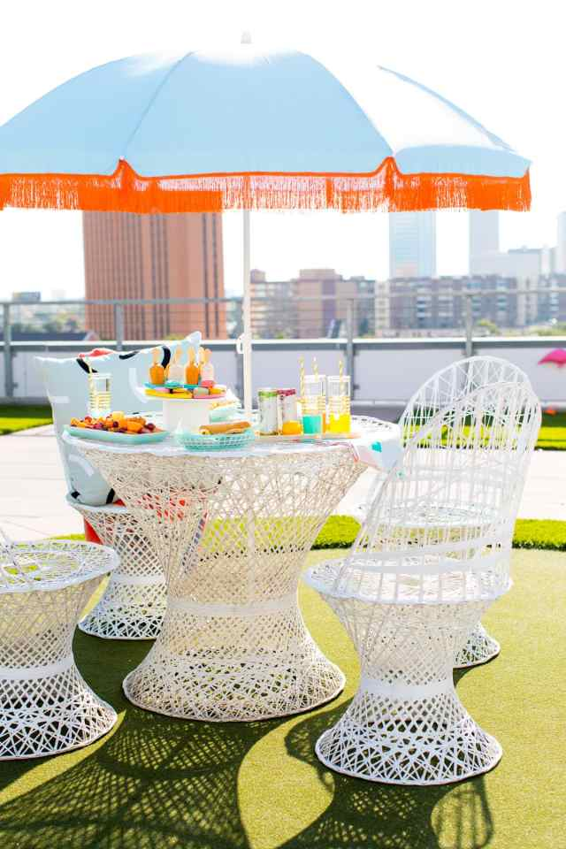 How to throw the perfect rooftop bbq party! - sugar and cloth - best DIY blog 2015 - houston - ashley rose