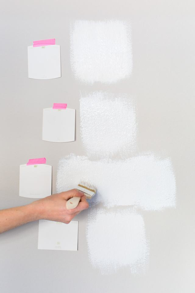 Choose the Perfect White Wall Paint - Sugar & Cloth - Home Decor - Room Makeover - Houston Blogger - Colorful