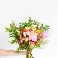 sugar and cloth behind the scenes lately, and we need a wedding hashtag - engagement flowers from amazon!