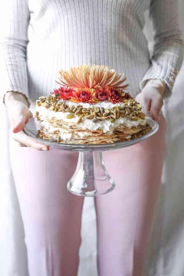 Chai Crepe Cake - Sugar & Cloth - Houston Blogger - Recipe - Fall