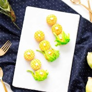 "Nothing says ""fall ya'll"" quite like DIY corn macarons, am I right?! - sugar and cloth - best diy blog - houston blogger - ashley rose"
