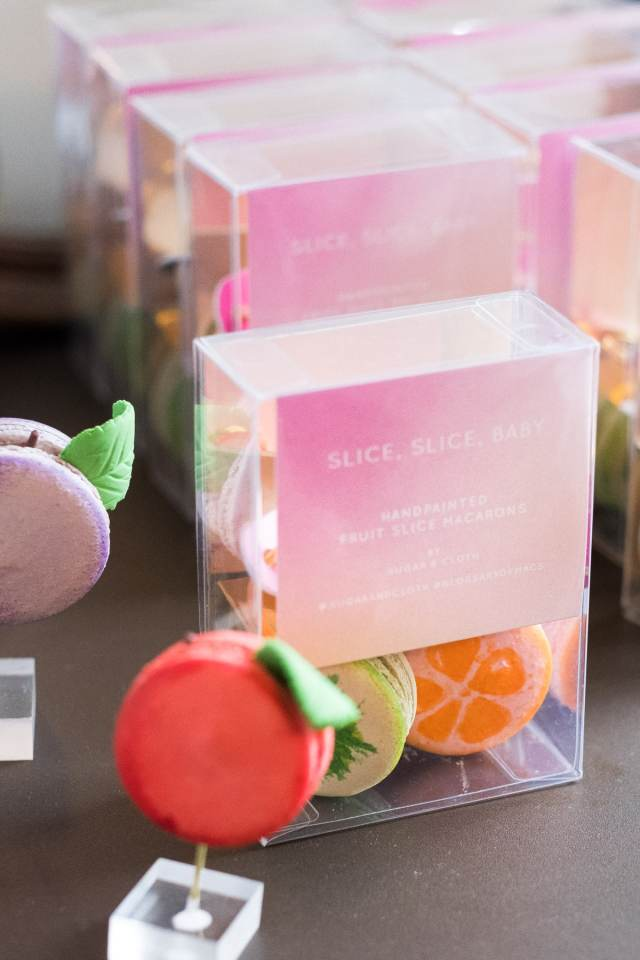 Fruit macarons for Create & Cultivate in Austin for SXSW with top Houston lifestyle blogger Ashley Rose of Sugar and Cloth