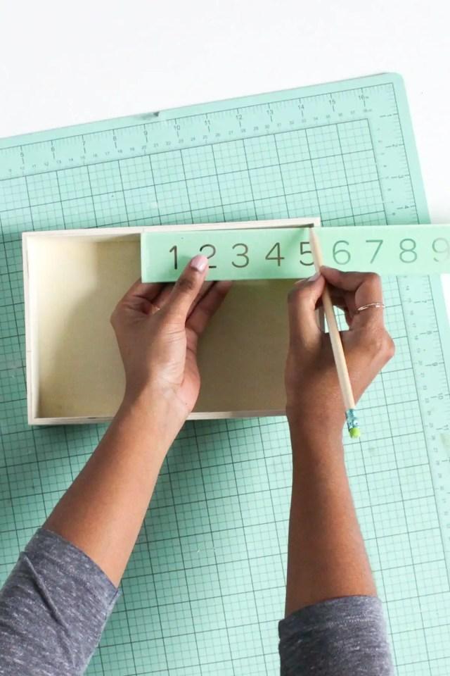 DIY Nesting Desk Organizer by Sugar & Cloth, an award winning DIY, home decor, and recipe blog.