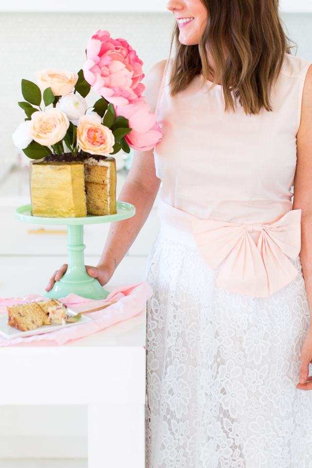 Easter Style with Maison Jules & a DIY Modern Potted Flower Cake by top Houston lifestyle blogger Ashley Rose of Sugar and Cloth