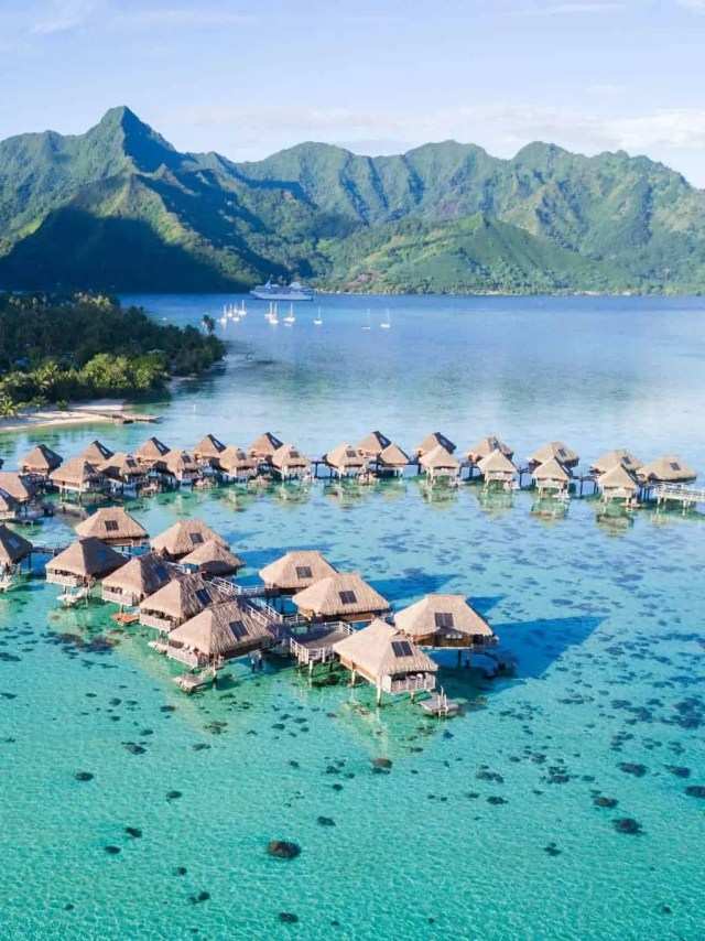 Our Honeymoon Part 1: How we traveld to French Polynesia on a budget by top Houston lifestyle blogger, Ashley Rose of Sugar and Cloth
