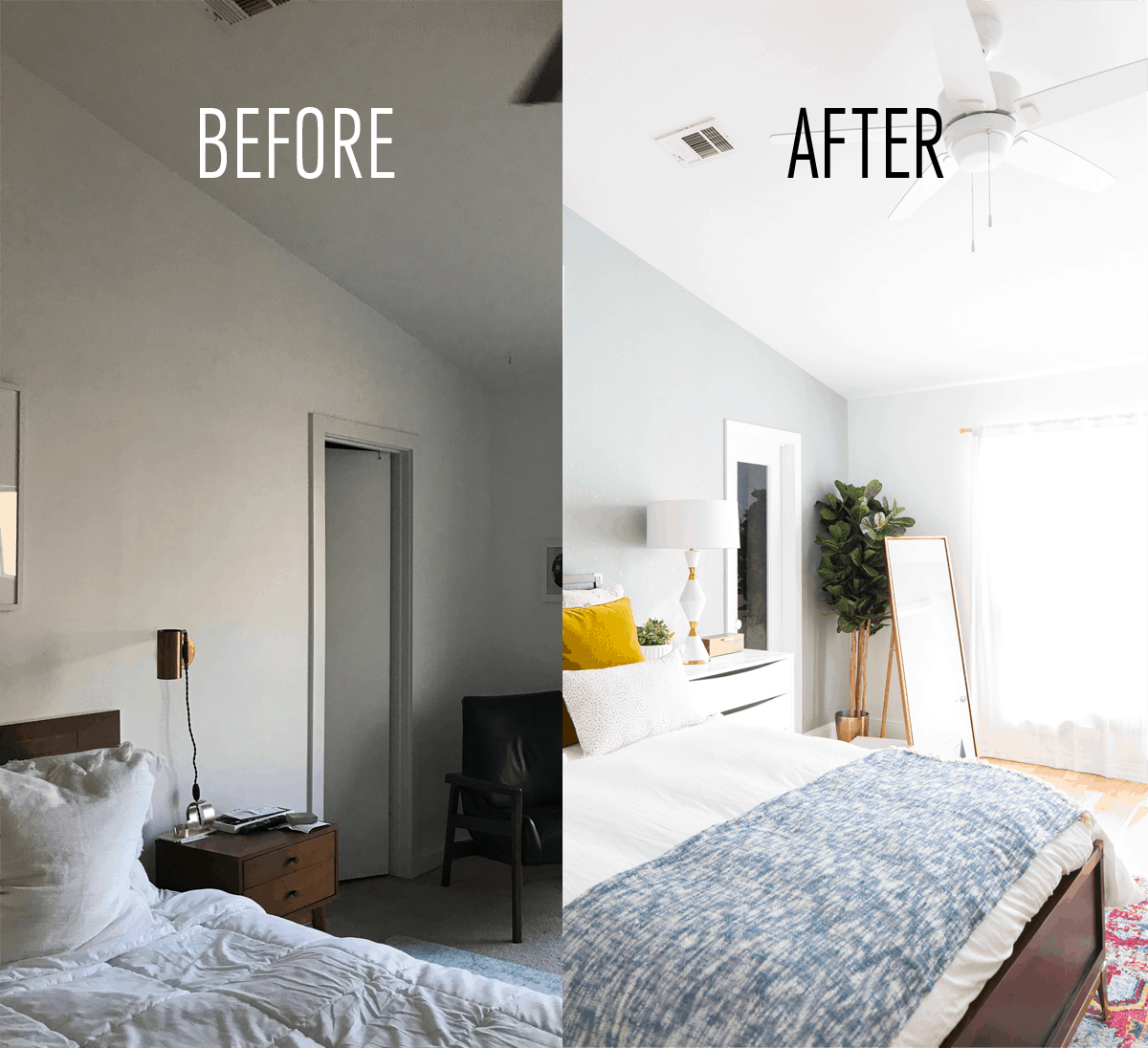 Petite Chambre Adulte One Room Challenge Final Reveal Our Master Suite Makeover