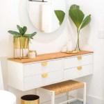 Diy Dressing Table How To Make An Ikea Vanity Hack Sugar Cloth