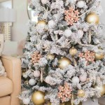 Our Living Room Christmas Decorations Pink Ornaments Sugar Cloth