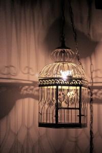 DIY: Vintage Birdcage Lamp | Sugar & Cloth