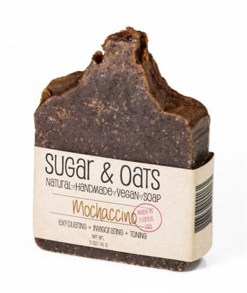 Mochaccino Scrub Soap (Peppermint Chocolate)