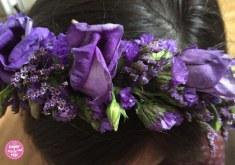Blüten-Haarreifen