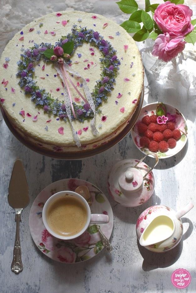 Muttertagstorte-Kaffeetafel