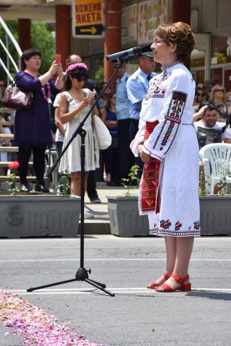 Eröffnung des Rosenfestivals