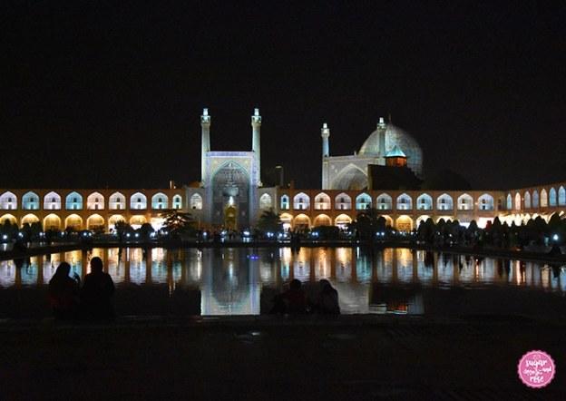 Isfahan bei Nacht