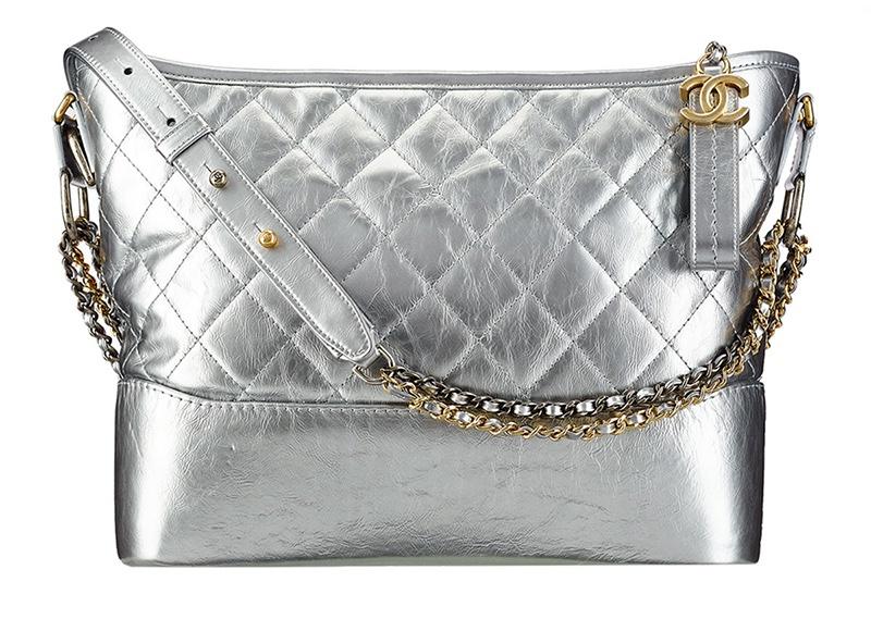 Chanel-Gabrielle-Hobo-Bag-Silver