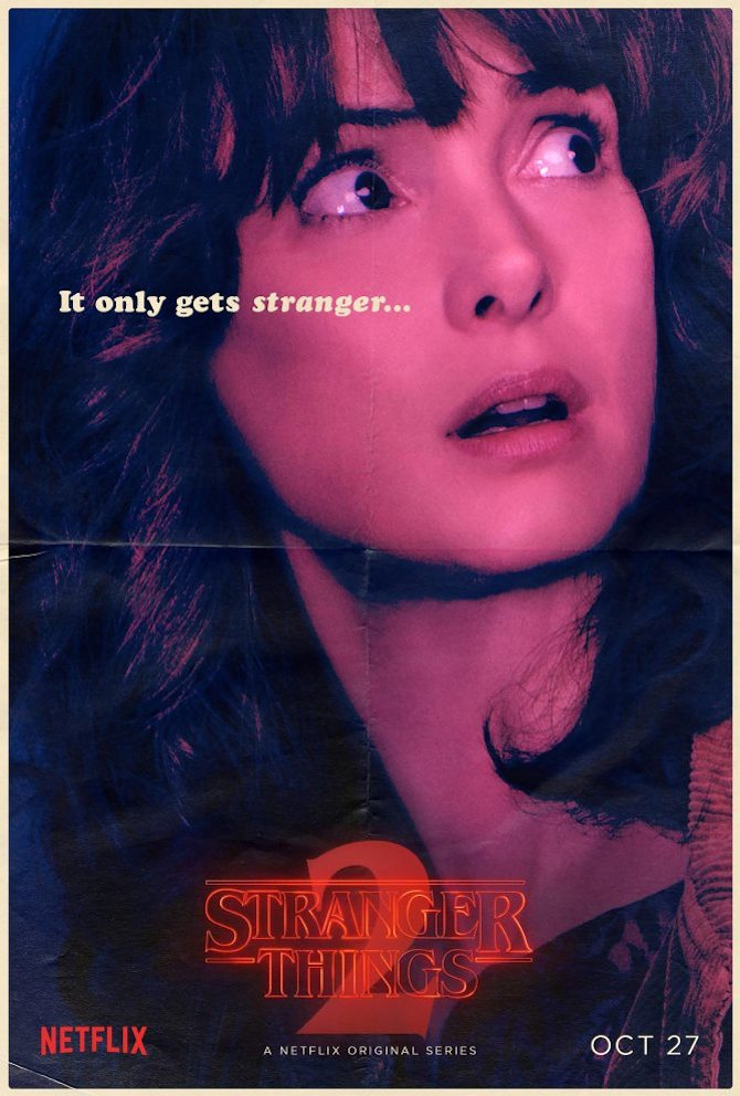 Stranger Things Season 2 - Winona Ryder CR: Netflix