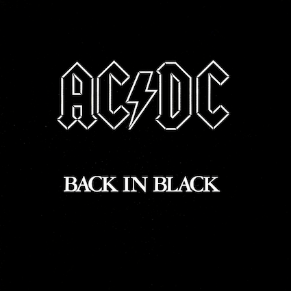 back in black ac:dc