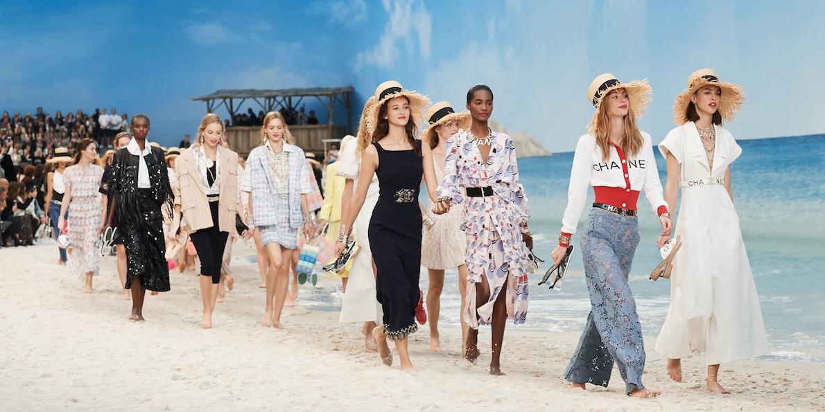 Vamos a la playa: Chanel nos lleva al mar para su colección primavera-verano 2019