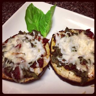 Julia's Eggplant Pizza