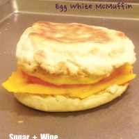 Egg White McMuffin (Weekly Breakfast Prep)