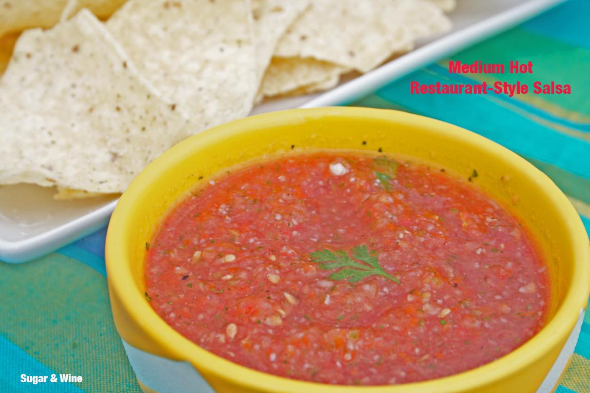 Medium Hot Restaurant Style Salsa