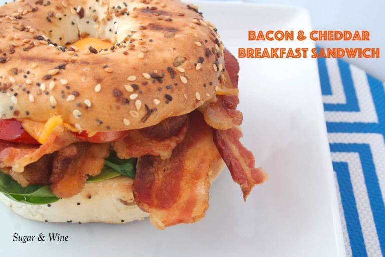 Bacon Cheddar Breakfast Sandwich