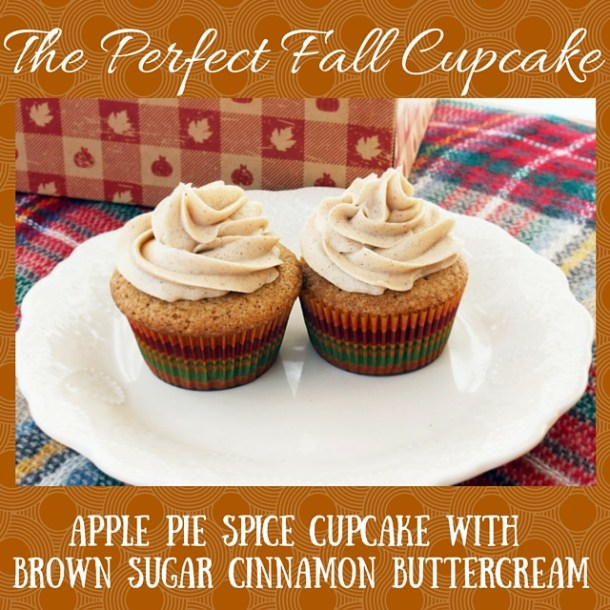 The Perfect Fall Cupcake