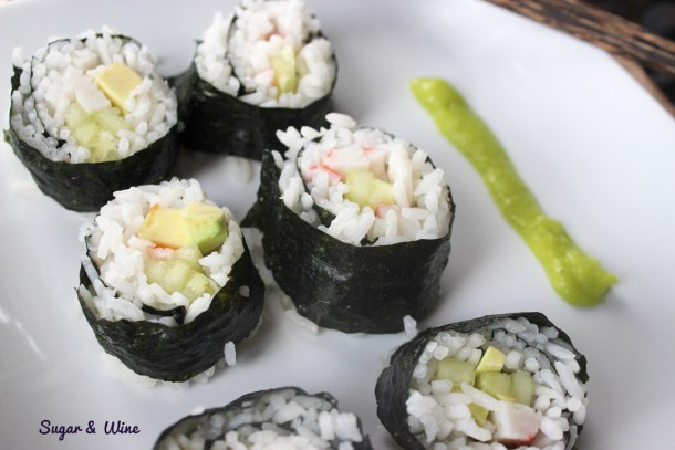Homemade California Rolls