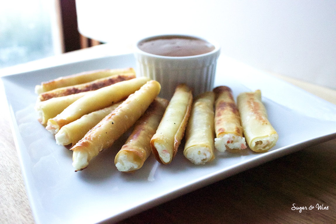 20-Minute Baked Crab Rangoon Sticks