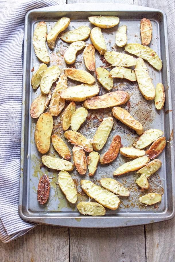 Parmesan & Black Truffle Potatoes   Sugar and Wine