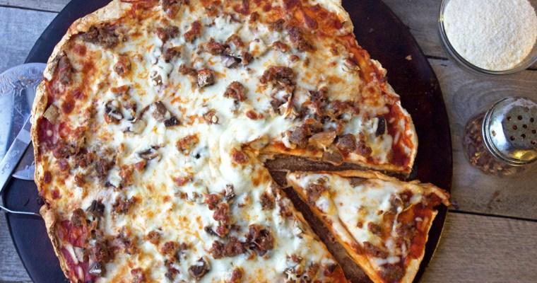 Rustic Gluten Free Pizza