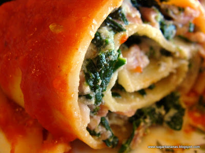 White Lasagna Roll-Ups