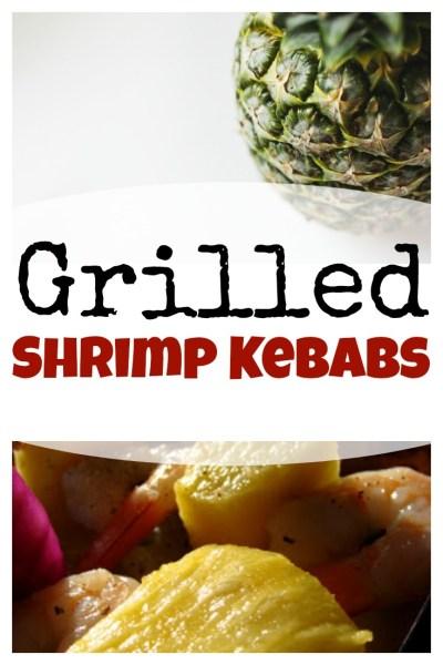 grilled shrimp kebabs on www.sugarbananas.com