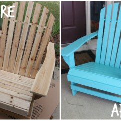 Painted Adirondack Chairs Exercise Ball Chair For Classroom The Version Sugar Bee Crafts