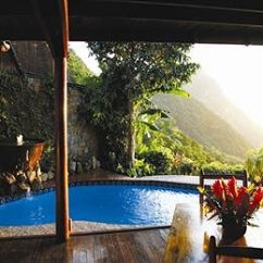 The Living Room With Sky Bar How To Decorate Your Contemporary Ladera Resort St. Lucia